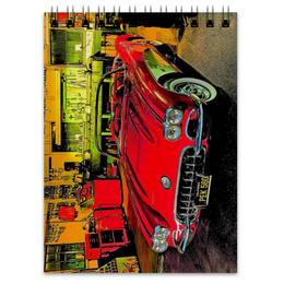 """Блокнот """"Retro Car"""" - ретро, машина, автомобиль, retro, car"""