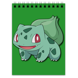 "Блокнот ""Бульбазавр"" - нинтендо, nintendo, bulbasaur, pokemon go, покемон го"