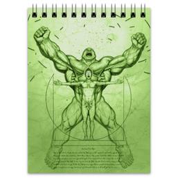 "Блокнот ""Халк (Hulk)"" - hulk, marvel, марвел, халк, брюс баннер"
