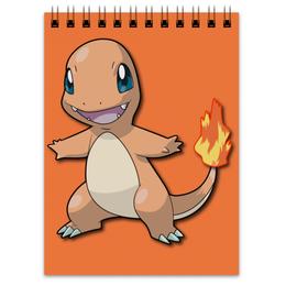 """Блокнот """"Чармандер"""" - нинтендо, nintendo, charmander, pokemon go, покемон го"""