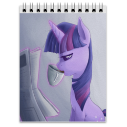 "Блокнот ""с Twilight Sparkle "" - mlp, twilight sparkle, my little pony"