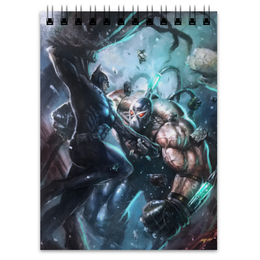 "Блокнот ""Бэтмен"" - комиксы, batman, бэтмен, бэйн, dc comics"