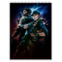 "Блокнот ""Resident Evil"" - обитель зла, resident evil, re"