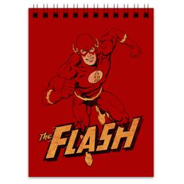 """Блокнот """"Флэш """" - flash, комиксы, супергерои, флэш"""