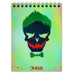 "Блокнот ""Джокер"" - jared leto, joker, dc comics, отряд самоубийц, suicide squad"