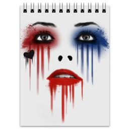 """Блокнот """"Харли Квинн"""" - комиксы, harley quinn, dc comics, отряд самоубийц, suicide squad"""