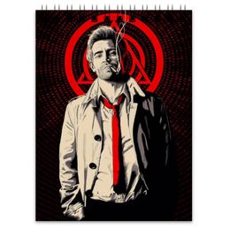 "Блокнот ""Джон Константин"" - комиксы, dc comics, constantine, константин"