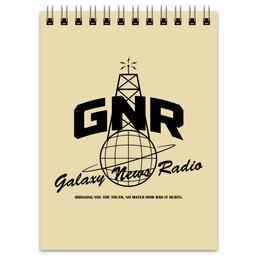 """Блокнот """"Fallout. Galaxy News Radio"""" - игры, fallout, геймерские, gnr, galaxy news radio"""