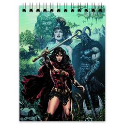"Блокнот ""Чудо-Женщина (Wonder Woman)"" - комиксы, dc comics, чудо-женщина, justice league, лига справедливости"