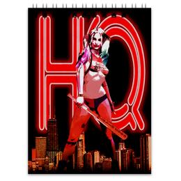 "Блокнот ""Харли Квинн"" - комиксы, harley quinn, отряд самоубийц, suicide squad, марго робби"