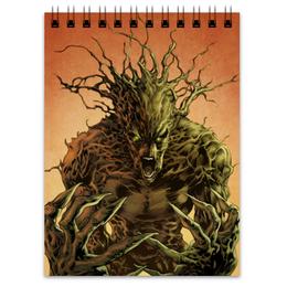 """Блокнот """"Грут (Groot)"""" - комиксы, марвел, стражи галактики, грут, guardians of the galaxy"""