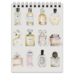 """Блокнот """"Perfume"""" - мода, духи, fashion, perfume"""