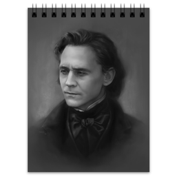 "Блокнот ""Sir Thomas Sharpe"" - loki, tom hiddleston, thomas sharpe, crimson peak, багровый пик"