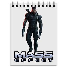 """Блокнот """"Mass Effect (Shepard)"""" - игры, mass effect, масс эффект"""