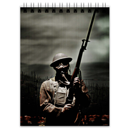 "Блокнот ""Солдат"" - армия, война, солдат, battlefield, world war"
