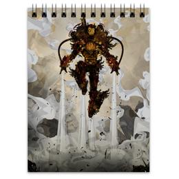 """Блокнот """"Steampunk Iron Man"""" - комиксы, стимпанк, железный человек, тони старк, жч"""