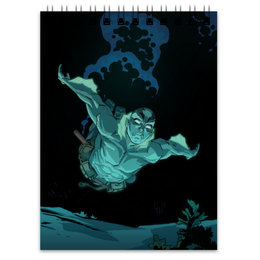 "Блокнот ""Abe sapien"" - комиксы, хеллбой, dark horse comics, эйб, abe sapien"
