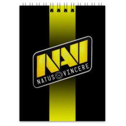 """Блокнот """"NaVi CS:GO DOTA2"""" - cs, navi, dota2, wot, csgo"""