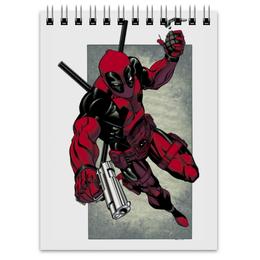 """Блокнот """"Дэдпул (Deadpool)"""" - комиксы, deadpool, марвел, дэдпу"""