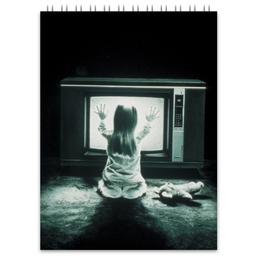 """Блокнот """"Полтергейст"""" - страх, кино, призрак, ужасы, привидение"""