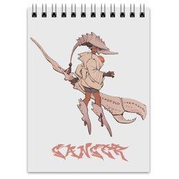 """Блокнот """"Знак зодиака Рак"""" - знак зодиака рак, гороскоп рак, для рака"""