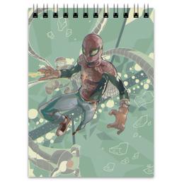 """Блокнот """"Человек-паук """" - комиксы, spider man, марвел, человек-паук, питер паркер"""
