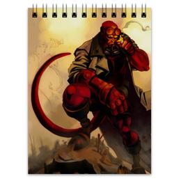 "Блокнот ""Хеллбой"" - комиксы, hellboy, хеллбой, dark horse comics"