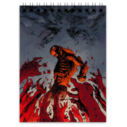 "Блокнот ""Abe sapien"" - комиксы, хеллбой, dark horse comics, abe, эйб"
