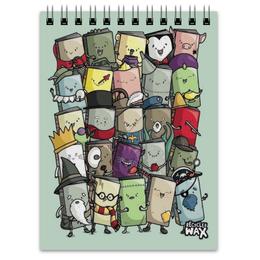 """Блокнот """"Маленькие Книжки"""" - арт, книги, books, книжки"""
