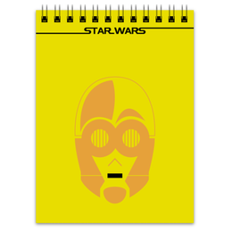 "Блокнот ""C-3PO"" - star wars, звездные войны, c3po, ситрипио"