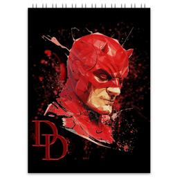 "Блокнот ""Сорвиголова (Daredevil)"" - арт, marvel, марвел, daredevil, сорвиголова"