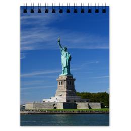 """Блокнот """"Статуя Свободы"""" - нью-йорк, америка, статуя свободы"""