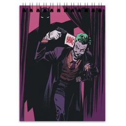 "Блокнот ""Бэтмен"" - joker, комиксы, batman, бэтмен, dc comics"