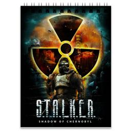 """Блокнот """"Stalker Shadow Of Chernobyl"""" - game, stalker, shadow of chernobyl"""