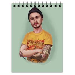 "Блокнот ""Портрет "" - tattoo, портрет, тату, portret"