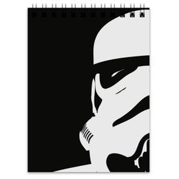 """Блокнот """"Штурмовик"""" - star wars, звездные войны, stormtrooper, дарт вейдер, стар варс"""