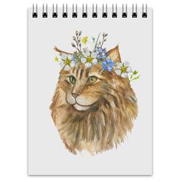 """Блокнот """"Лето, лето!"""" - кот, животные, котенок"""