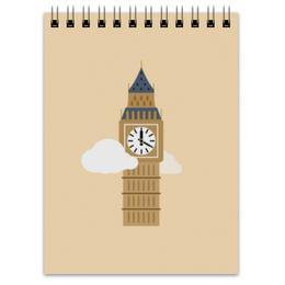 """Блокнот """"Big Ben"""" - лондон, биг-бен, big ben"""