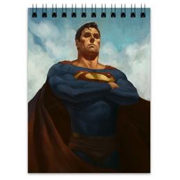 "Блокнот ""Супермен (Superman)"" - комиксы, супермэн, dc, dc comics, супс"