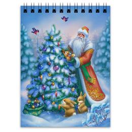 "Блокнот ""Дед Мороз"" - новый год, зима, new year, дед мороз, ёлка"