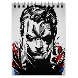 """Блокнот """"Супермен (Superman)"""" - комиксы, марвел, кларк кент, супс"""
