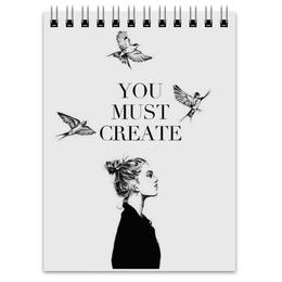 """Блокнот """"Творение"""" - арт, рисунок"""
