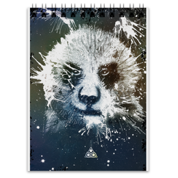"""Блокнот """"Сказочная панда """" - панда, panda"""