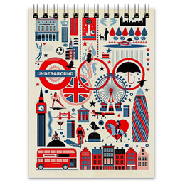 """Блокнот """"England"""" - london, лондон, англия, england, uk"""