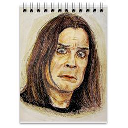 "Блокнот ""Ozzy Osbourne"" - портрет, ozzy, оззи осборн, ozzy osbourne, оззи"