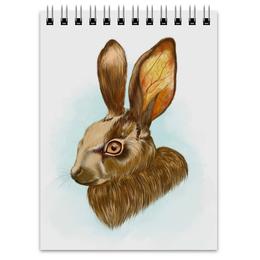 """Блокнот """"кролик"""" - bunny, кролик, rabbit"""