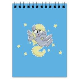"""Блокнот """"My little pony (Derpy)"""" - мультфильм, my little pony, derpy, для детей, мой маленький пони"""