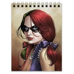 "Блокнот ""Харли Квинн"" - комиксы, джокер, бэтмен, harley quinn, dc comics"