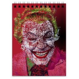 """Блокнот """"Джокер"""" - joker, комиксы, джокер, dc, dc comics"""