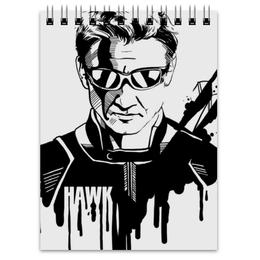 "Блокнот ""Соколиный Глаз"" - комиксы, мстители, avengers, марвел, hawkeye"